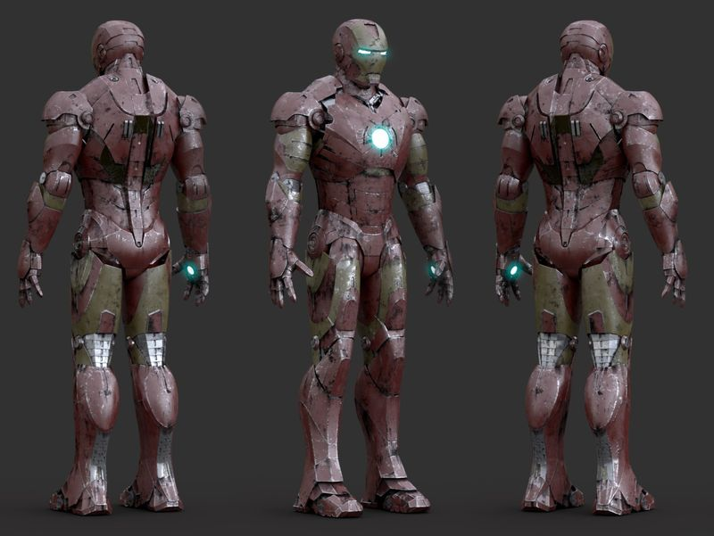 Iron Man // Look-dev
