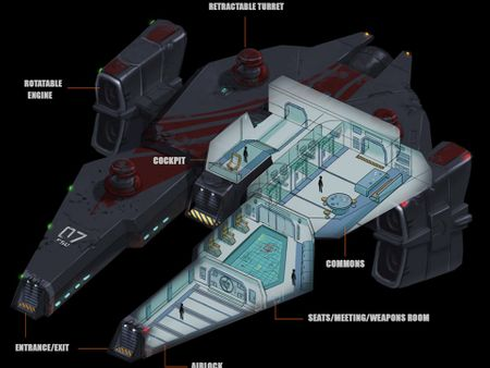 RBNSN-07 Military Transport