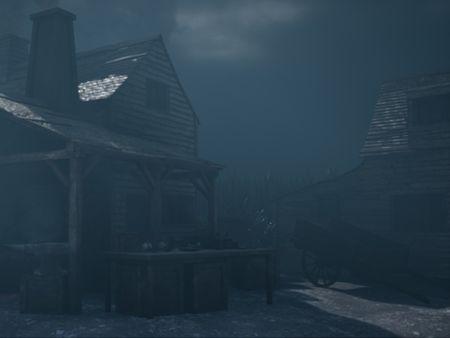 Pilgrim Village - UE4 Scene