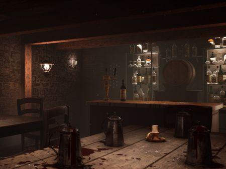 Inglorious Basterds Bar Scene