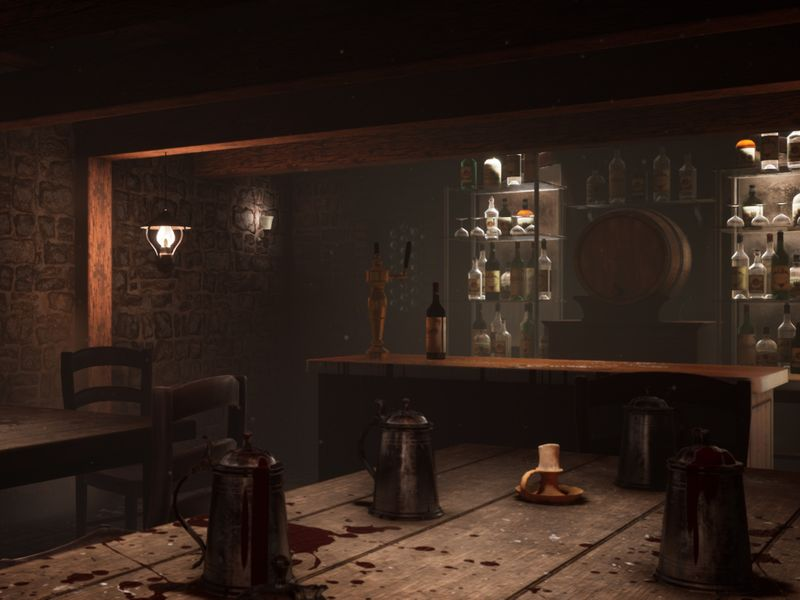 Inglorious Basterds Bar Scene