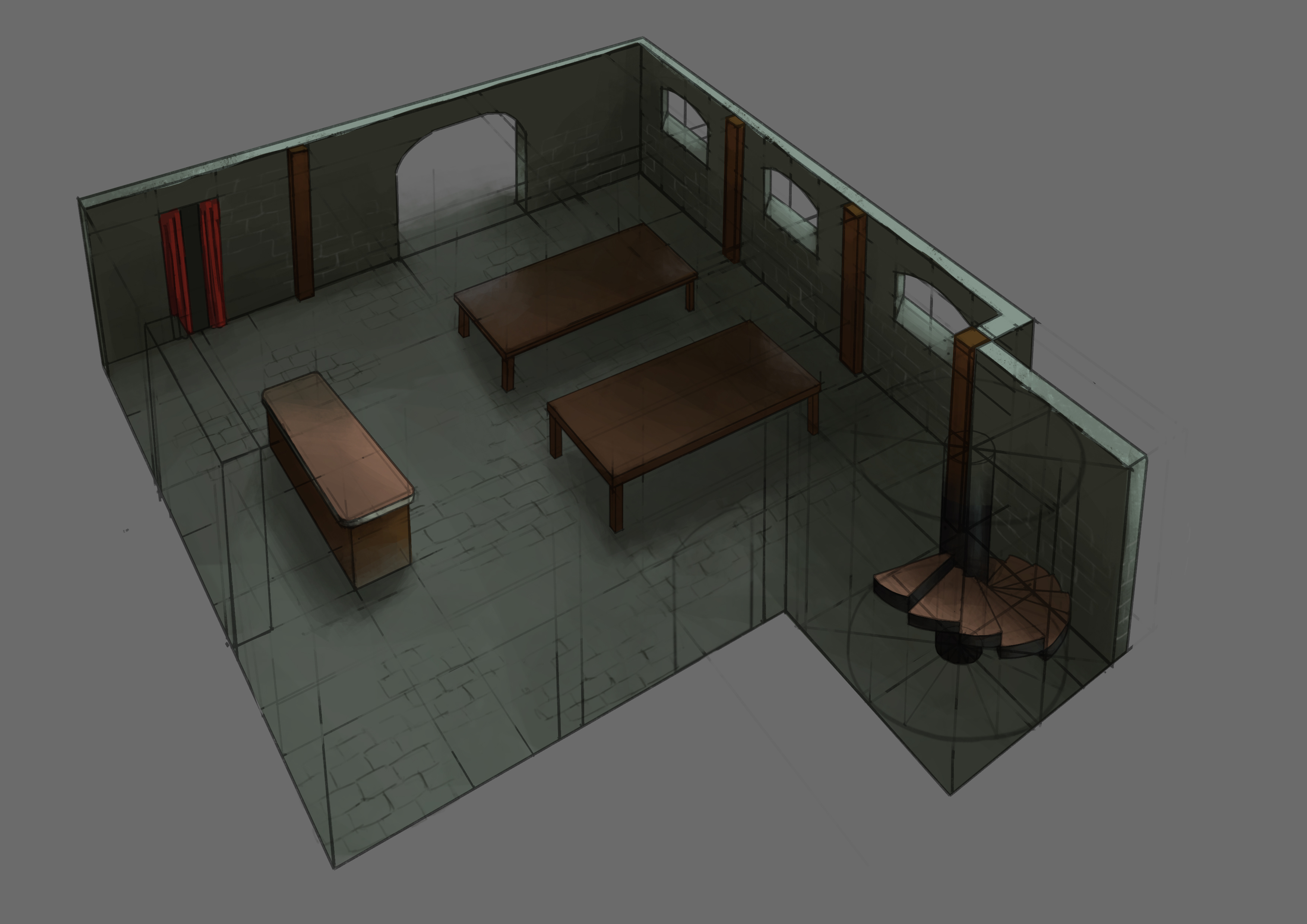 Game Environments and Props | The Rookies