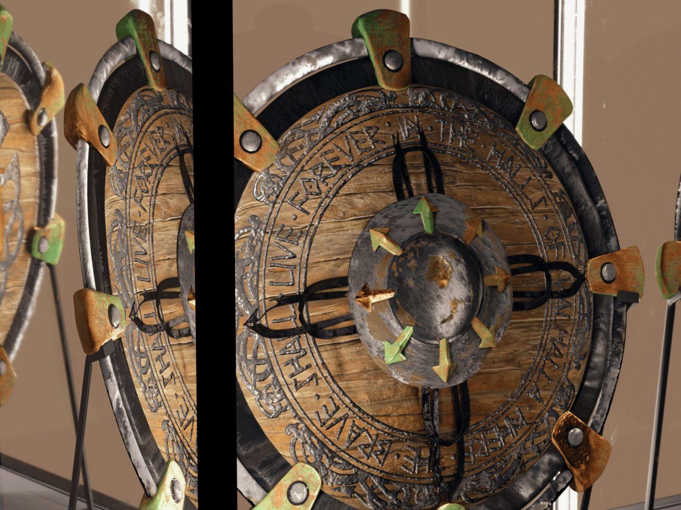 Norse Shield Display