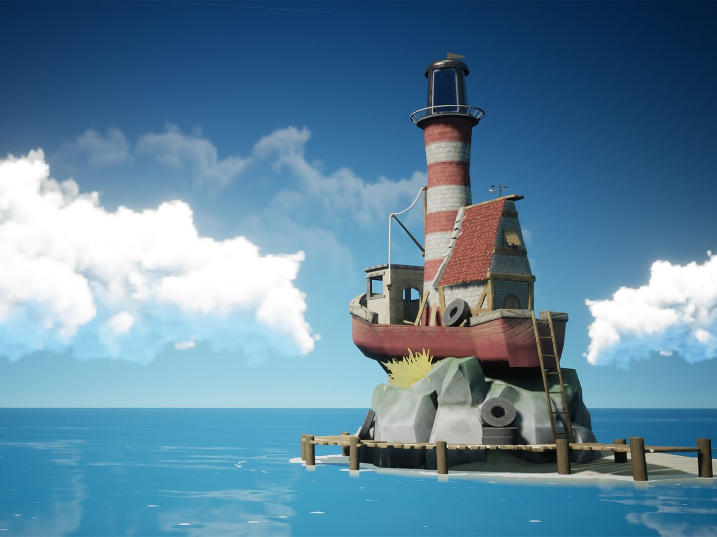 UE4 - Stylized Lighthouse
