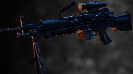 M249 Saw LMG