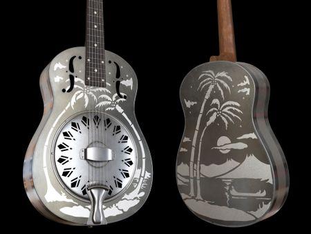 National Type-O Guitar and Classical Guitar