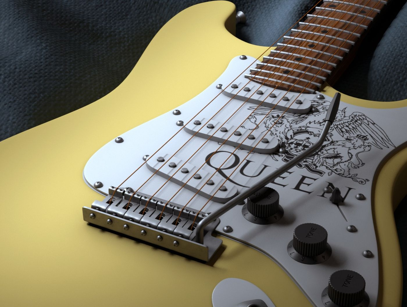 #WeeklyDrills Guitar -Electric guitar, Queen edition