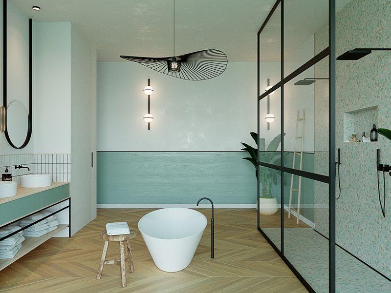Lagoon bathroom