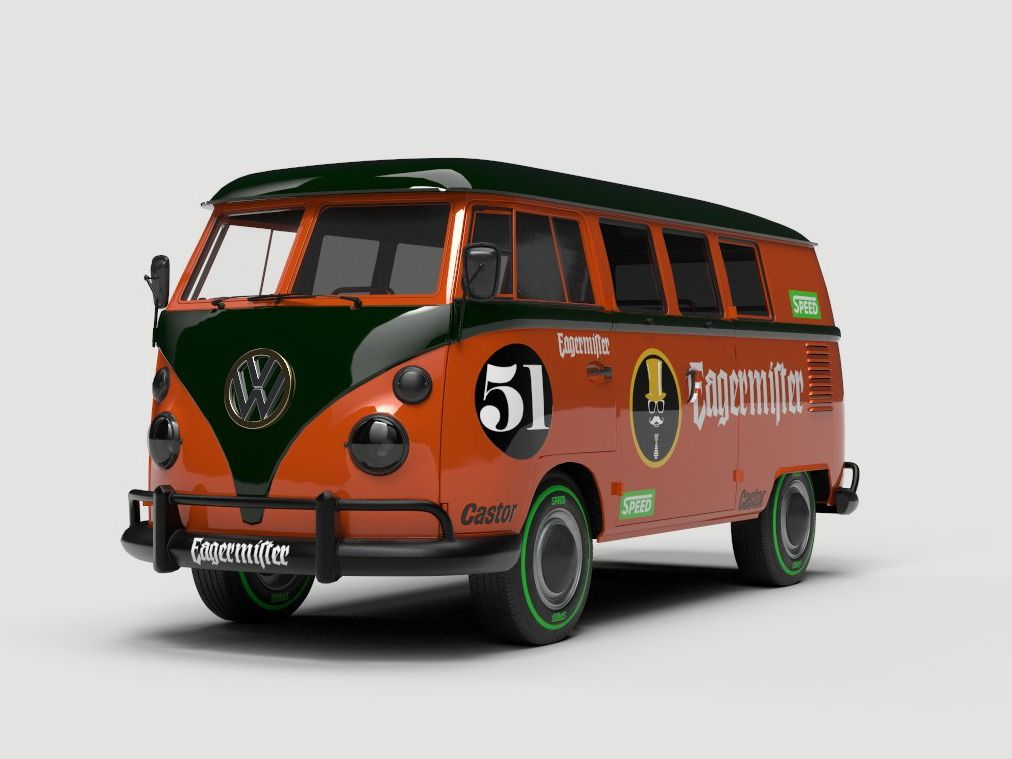 Neoclassic VW Kombi - Racing Livery