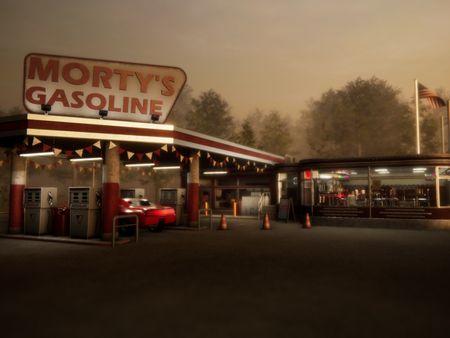 Retro Gas Station / Diner