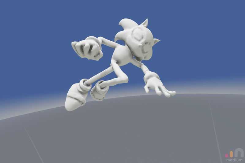 Sonic model (in Progress)