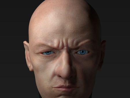 Human face study