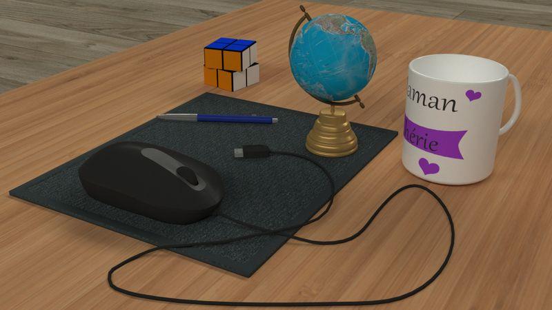 Desk objects