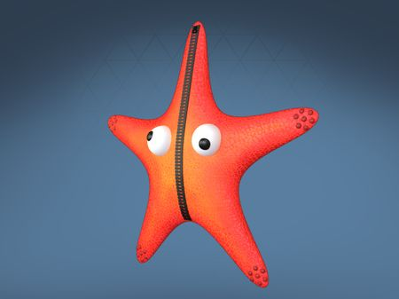 Starfish Back Bling Fortnite