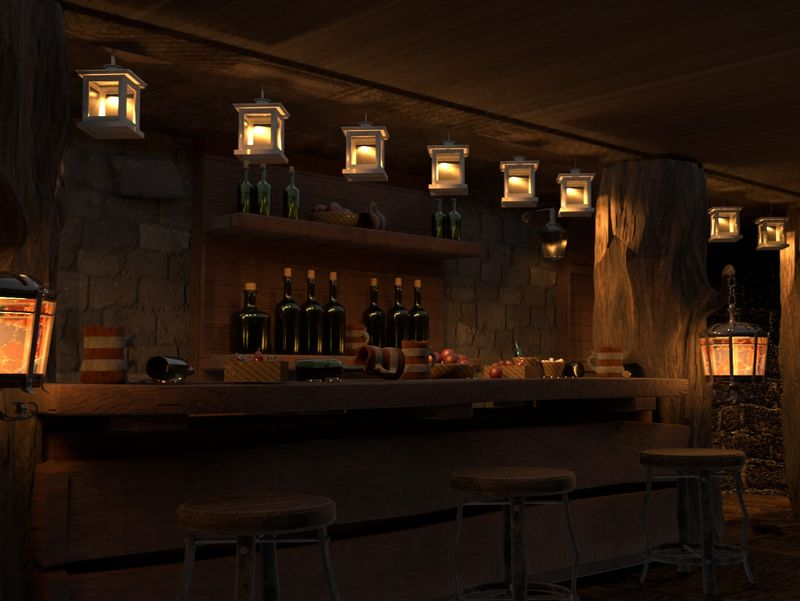 Underground Secret Chamber