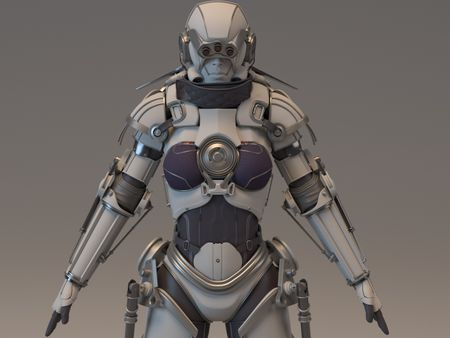 character /  Hard surface modeling