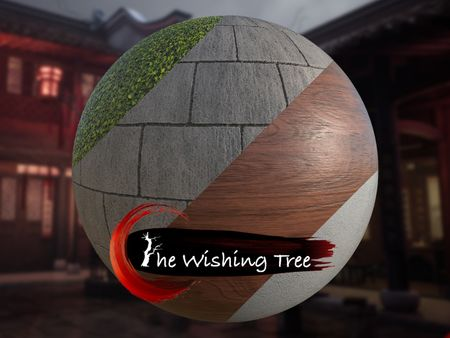 The Wishing Tree (Chinese Courtyard) - Material Art