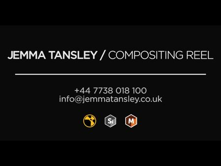 Jemma Tansley - Compositing Reel 2021