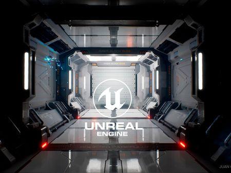 Sci-Fi Corridor / Modular environment.