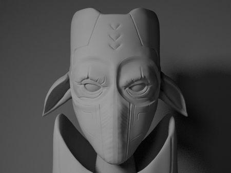 Vodric - Soldier Concept