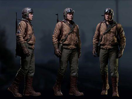 WW2 US Soldier (Wardaddy)