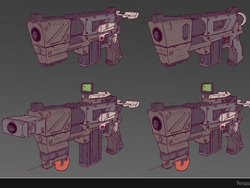 Modular Gun Concept art