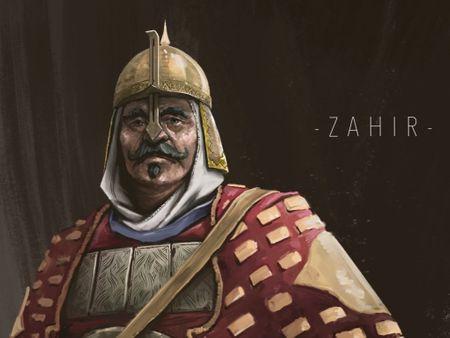 Mughal Warrior Concept art