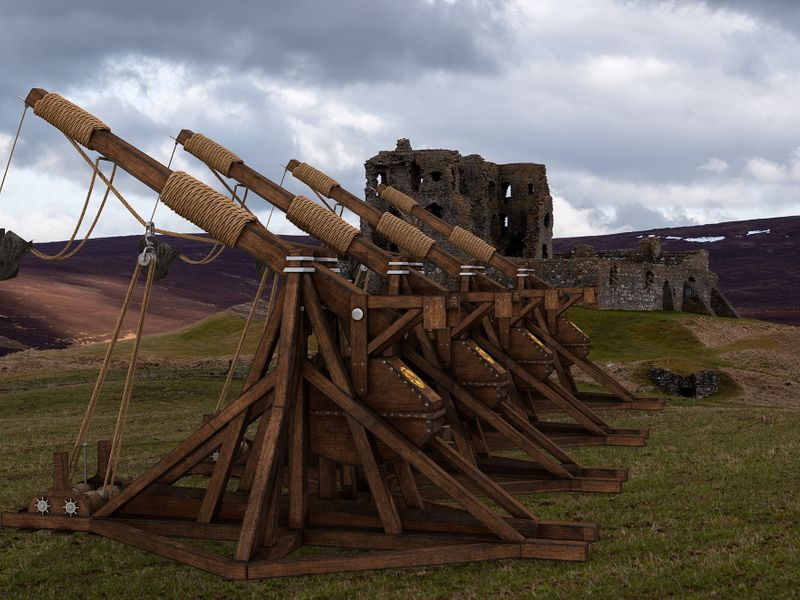 Trebuchet - Medieval War Machine