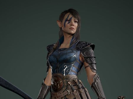 Elf Commander Onneisha - Real-time Character.