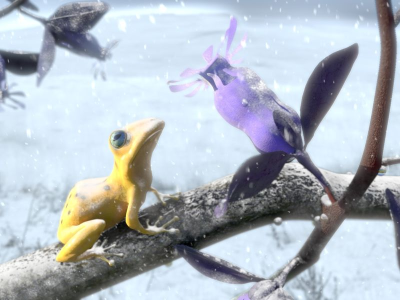 Frog - Compositing