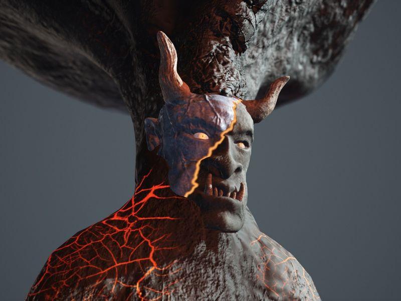 Devil Stone Column...