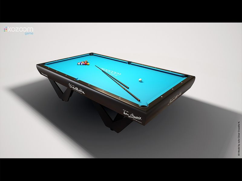 Billiard Game Props