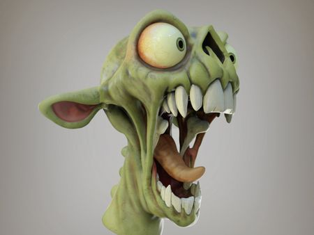 Zombie - Concept by Creature Box