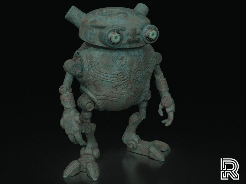 Ancient Robot - Shuddie