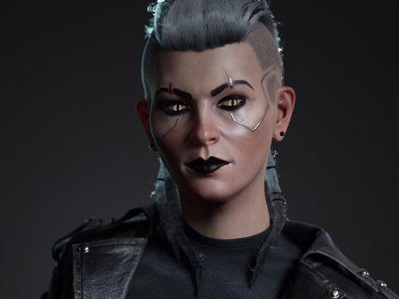Cyberpunk Witcher