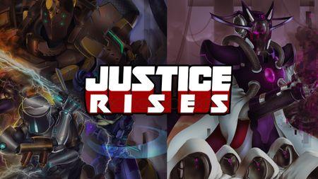 Justice Rises- Superhero VR Game