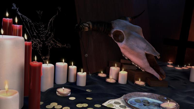 Still Life - Satanist ritual