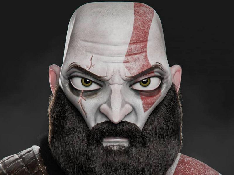 Kratos - Stylized