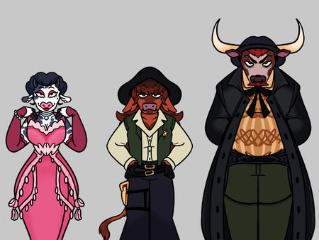 Cow Folk Line-up