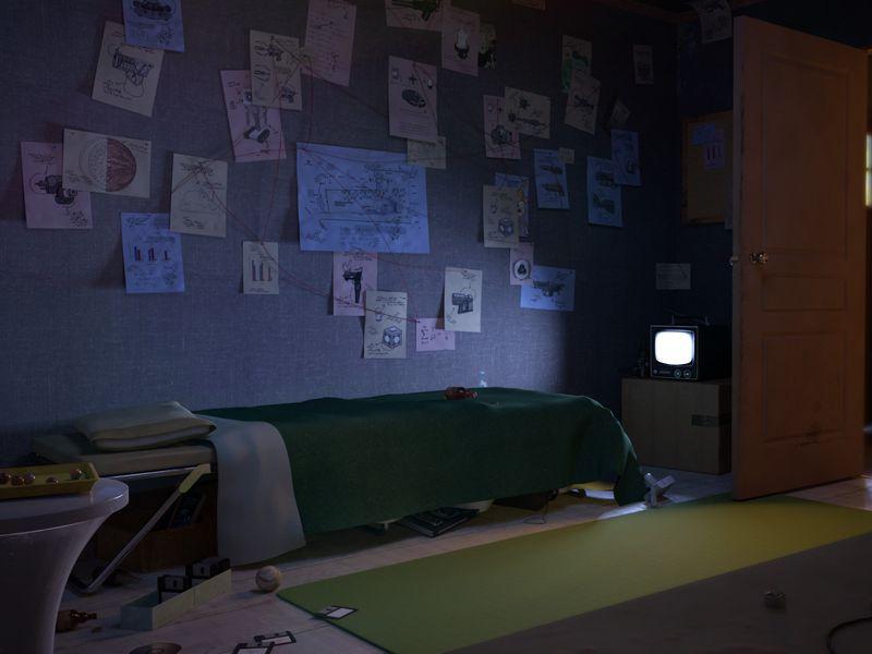 Rick's lair