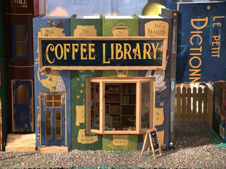 Homemade Coffee shop