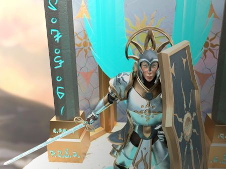 Armed Guard : Kalia, Paladin