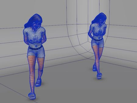 First motion capture footage, and it's editing