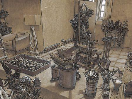 Oil Painter's Atelier