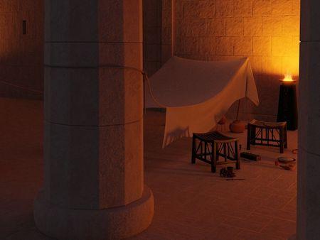 Guards' Tent | Egypt, 1563 B.C.E.