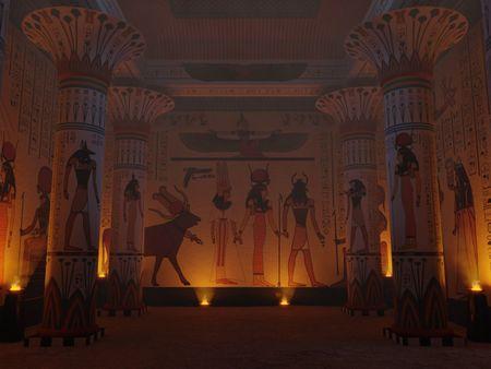 Temple Room | Egypt, 1563 B.C.E.