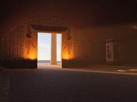 Vaulted Entry Hall | Egypt, 1563 B.C.E.