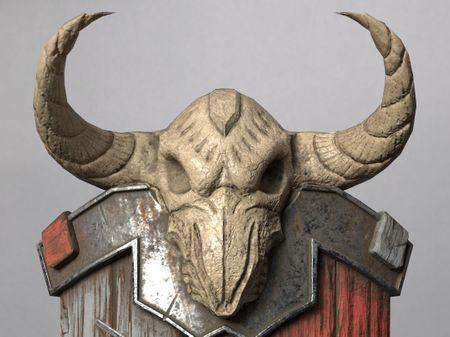Blizzard Inspired Shield