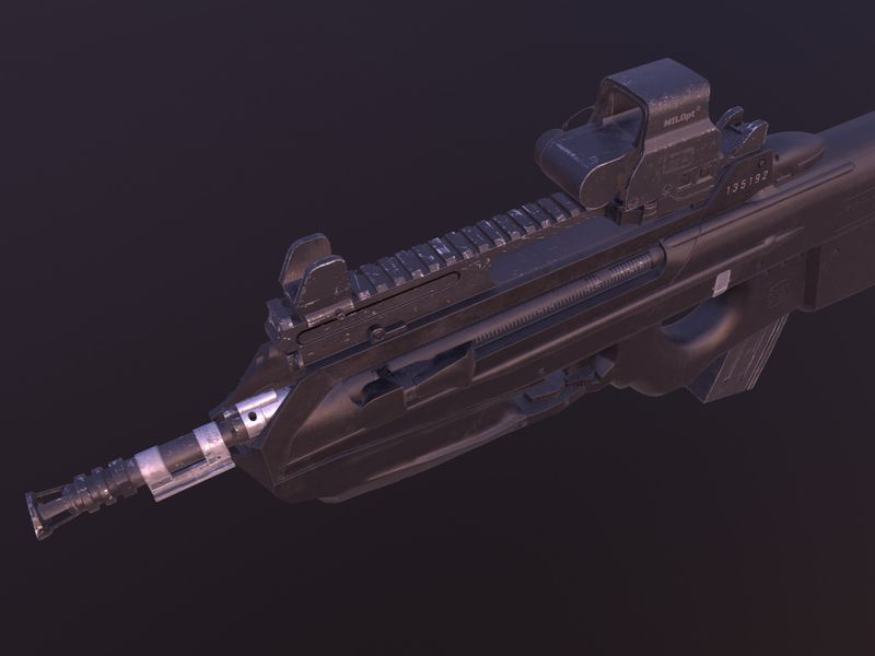 Worn FN F2000 S