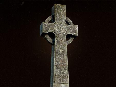 Gothic Headstone
